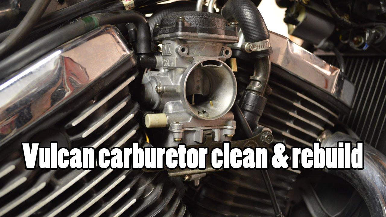 how to kawasaki vulcan vn800 carburetor clean rebuild 1995 2006 youtube [ 1280 x 720 Pixel ]