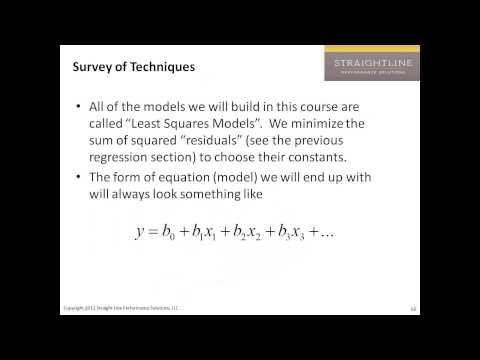 Building Predictive Models