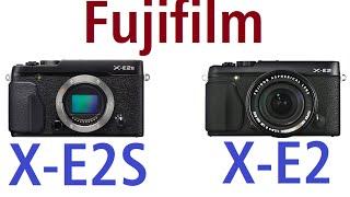 Fujifilm X-E2S vs Fujifilm X-E2