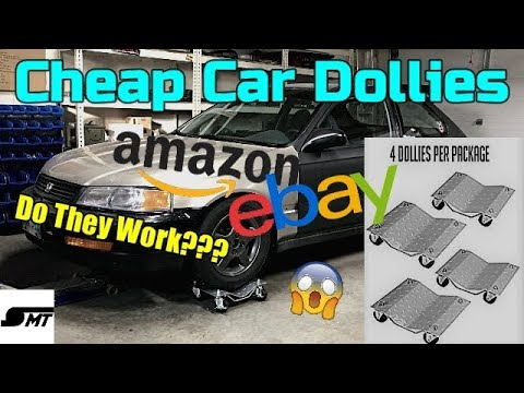 Review - Cheap Amazon / eBay Car Dollies --- Worth It???