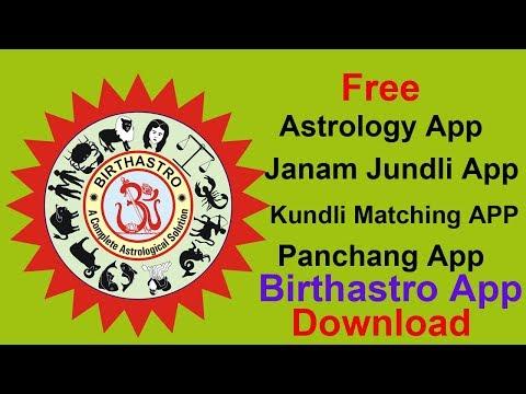 Free Astrology App - Free Kundli App - Free Panchang App -Birthastro App
