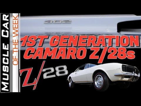 1967, 1968, 1969 Chevrolet Camaro Z28 Special - Muscle Car Of The Week Video Episode 341