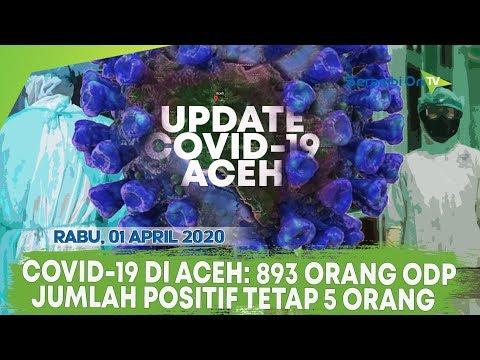 Update COVID-19 Aceh: 893 Orang ODP Dan Positif Tetap 5 Orang, Data Per Rabu, 01 April 2020