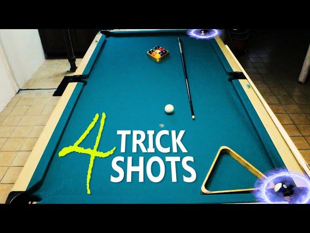 4 Pool Trick Shots: Volume 14