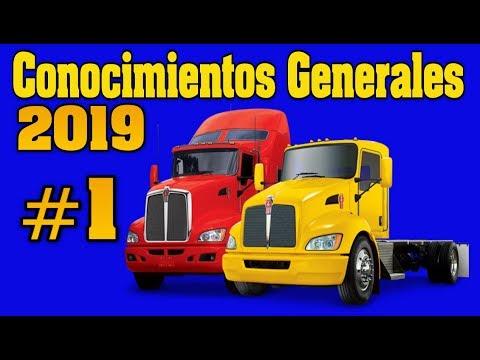 EXAMEN PARA LICENCIA CDL CONOCIMIENTOS GENERALES #1/CDL EN ESPAÑOL/Preguntas / licencia/ camion