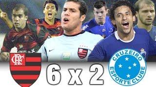 Flamengo 6 x 2 Cruzeiro * Brasileiro 2004 * Melhores Momentos