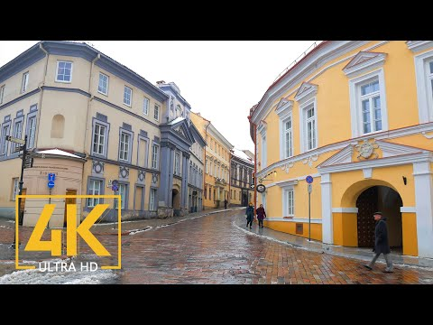 4K Vilnius, Lithuania - Urban Documentary Film - Travel Journal