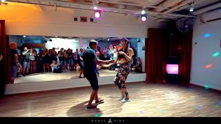 Bachata demo from Stockholm Fabian and Nicolina