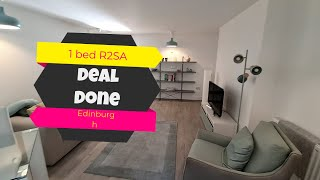 Deal Done with Jozef Toth - 1 bed R2SA - Edinburgh