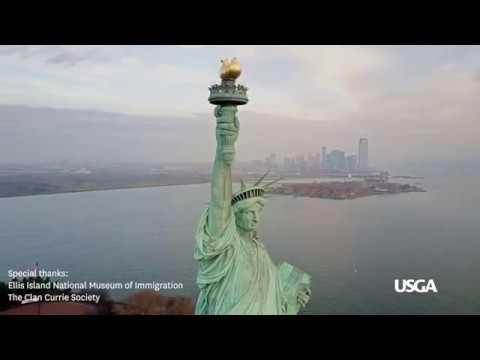 USGA Golf Journal: Golf Played Through Ellis Island