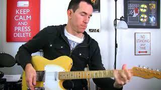 Bluesy A Minor Pentatonic Guitar Soloing Lick - Rock & Blues Electric Lead