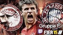 OLYMPIAKOS PIRÄUS : FC BAYERN MÜNCHEN 2015 - Champions League | LIVESTREAM FIFA Prognosen