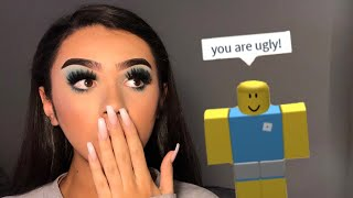ROBLOX PLAYERS CHOOSE MY MAKEUP