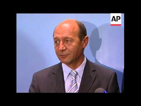Romanian pres meets German parliament members over accession talks