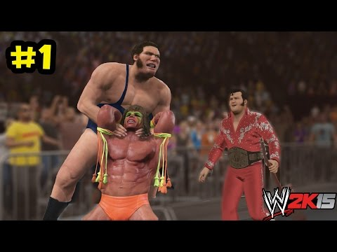 WWE 2K15 - Path of the Warrior -The Ultimate Warrior Vs Andre the Giant