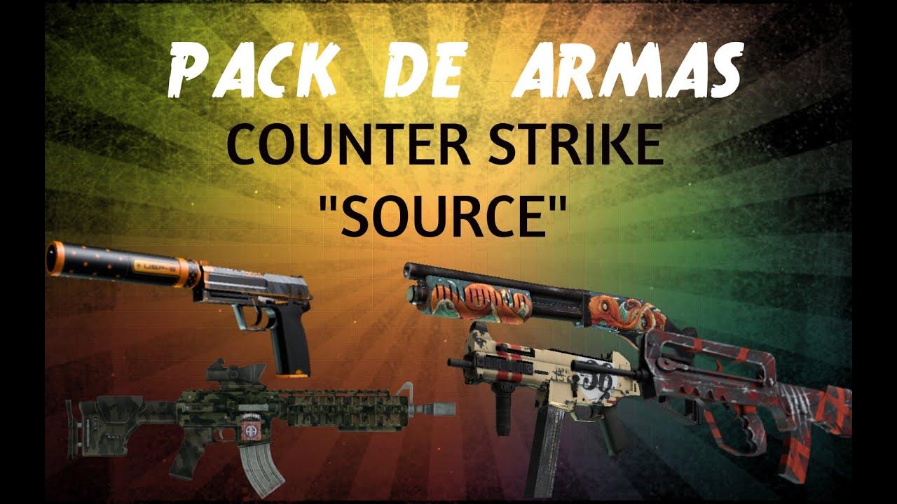 novas armas para cs source