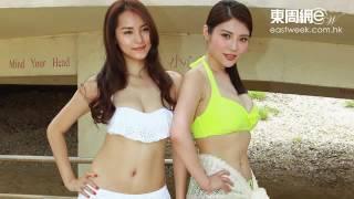 香港女星「胸」群出動 性感身材大鬥法