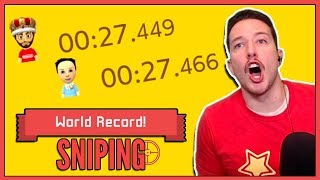 I Spent HOURS Trying To Beat My Friends WORLD RECORDS!!!