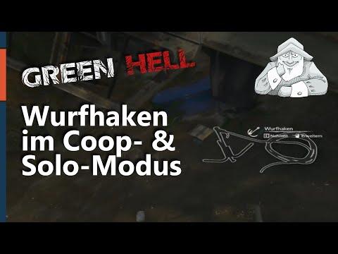 GREEN HELL - Tutorial #12   [SPOILER] Wurfhaken im Survival-Modus finden   Deutsch Tipps und Tricks