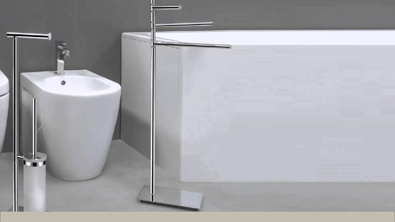 Piantane per bagno Square Colombo Design - Manigliedesign.com - YouTube
