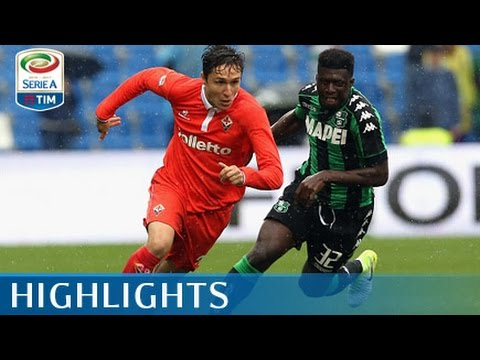 Sassuolo - Fiorentina - 2-2 - Highlights - Giornata 35 - Serie A TIM 2016/17