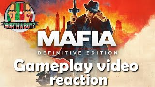 Mafia Definitive Edition Gameplay Video reaction - Oh Noes