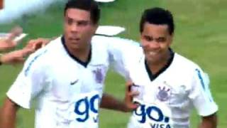 1º Gol de Ronaldo Fenômeno no Timão - Corinthians vs Palmeiras 08/03/2009 thumbnail