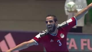 بالفيديو.. مصر عقدة إيطاليا.. ملخص وأهداف التأهل التاريخي بكأس العالم للصالات
