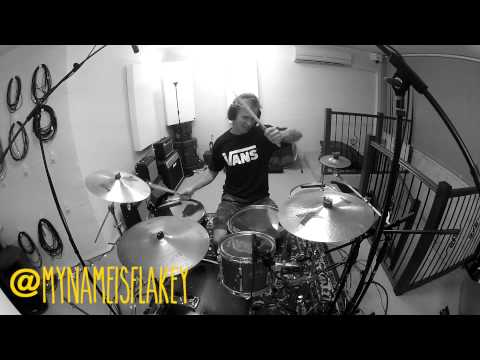 Morgan Blake : Macklemore - Can't Hold Us DRUM COVER