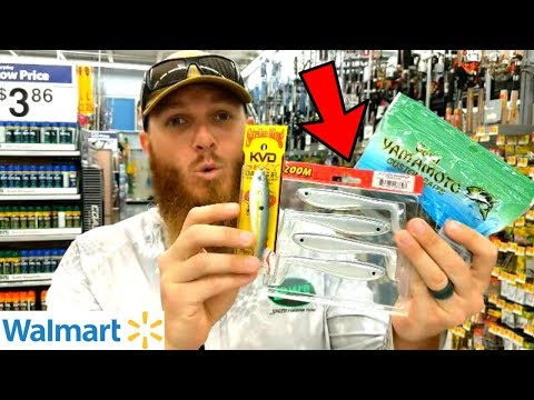Fishing W/ MOST EXPENSIVE Lures At WALMART (Worth The $$$?)