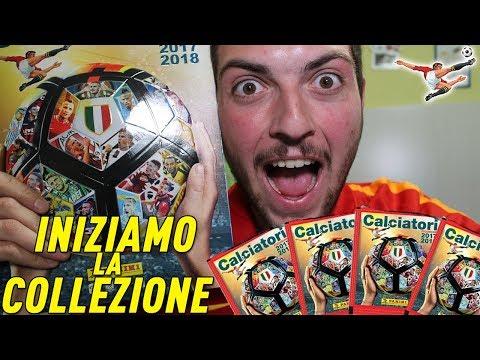 INIZIAMO LA NUOVA COLLEZIONE !! ALBUM CALCIATORI PANINI 2017/2018 !! [the Giant]