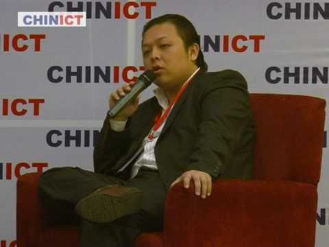 P1.cn founder speaks at CHINICT.