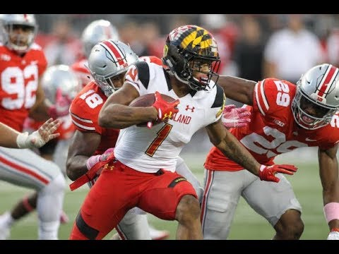 DJ Moore (Maryland WR) Vs Ohio State - 2017