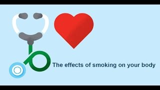 The effects of smoking on your body