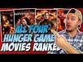 All Four The Hunger Games Movies Ranked Worst to Best (w/ Jennifer Lawrence)