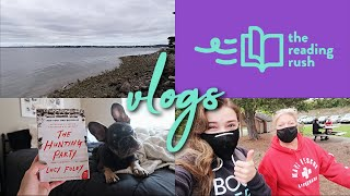Reading Rush VLOGS Day 3 || [guitar covers, a thriller, and a beach day with my mom]