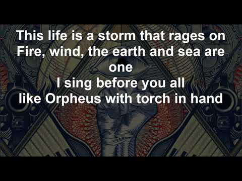 Like Orpheus - ORPHANED LAND - Lyrics - 2018