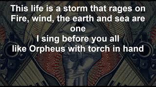 Like Orpheus - ORPHANED LAND - Lyrics - 2018