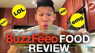 TASTE TESTING BUZZFEED FOOD RECIPES - Life After College: Ep.439 thumbnail