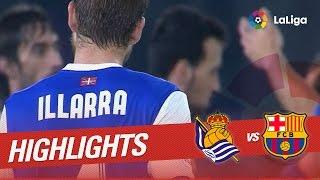 Resumen de Real Sociedad vs FC Barcelona (1-1)