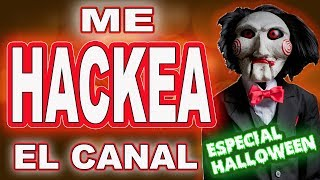 SAW ME HACKEA THE CHANNEL - SPECIAL HALLOWEEN THE ARCH - SAW PLAYING FORTNITE