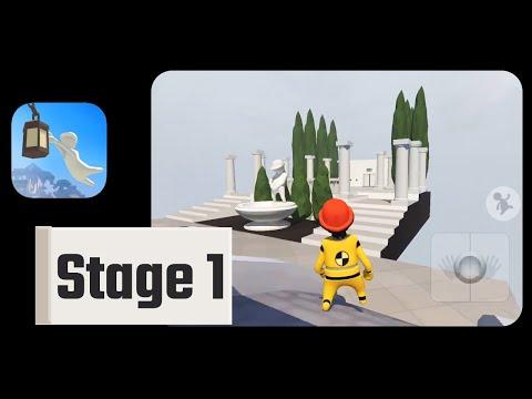 Human: Fall Flat Game Stage 1 Walkthrough