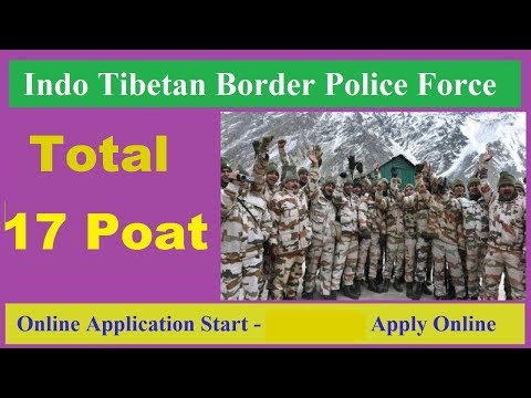 ITBP Requtment Apply Online Assistant Surgeon Post 2019