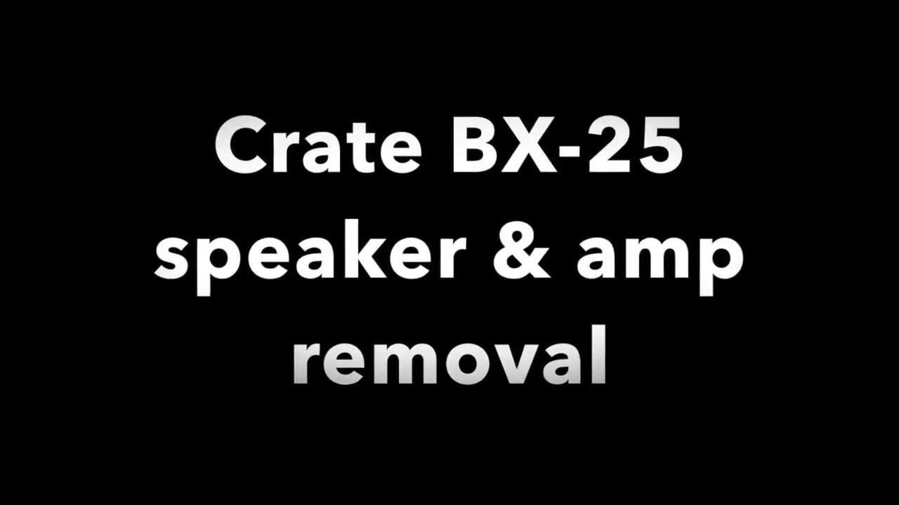 bx 25 bass