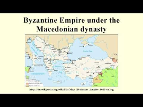 Byzantine Empire under the Macedonian dynasty