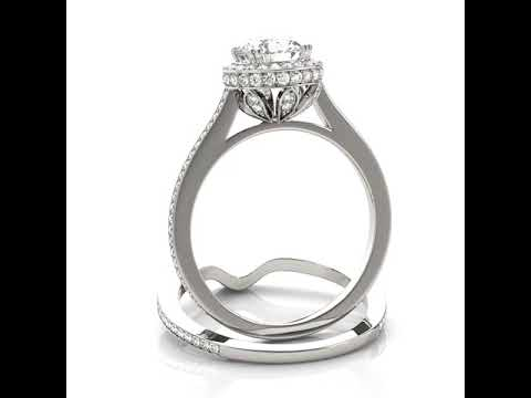 Halo Engagement Rings - Jewelry Exchange Dallas