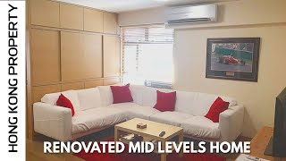 LOVELY RENOVATED MID LEVELS HOME IN GREAT LOCATION  | Hong Kong