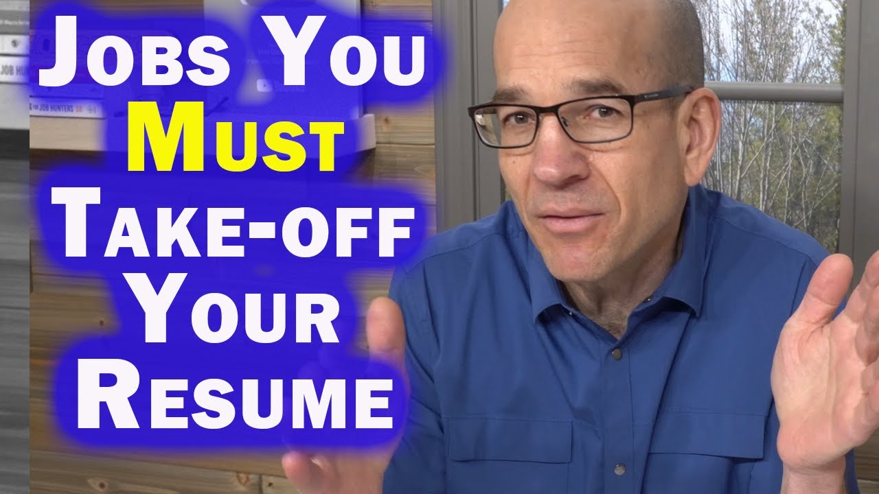 Job You Can Leave-Off Your Resume to Avoid Resume Gaps ...