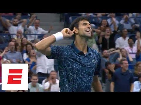 2018 US Open Highlights: Novak Djokovic tops Richard Gasquet, riles up crowd in Round 3 | ESPN