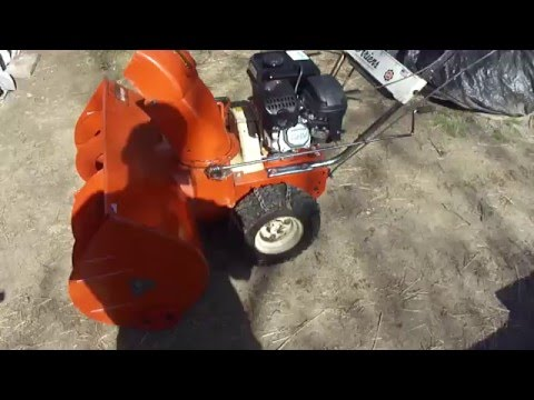 1971 Ariens Sno-Thro 32 wide with Predator 212cc Start and run